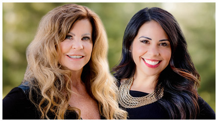 Mother and Daughter real estate team Terry Rasner and Sarah Carmona Zink